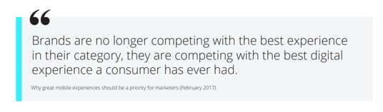 Why great mobile experiences should be a priority for marketers - February 2017