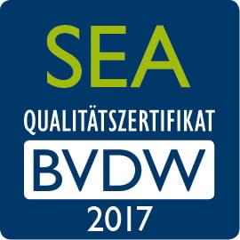 SEA Qualitätszertifikat BVDW 2017