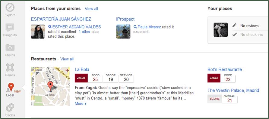 google places deja paso a google plus local acceso desde perfil