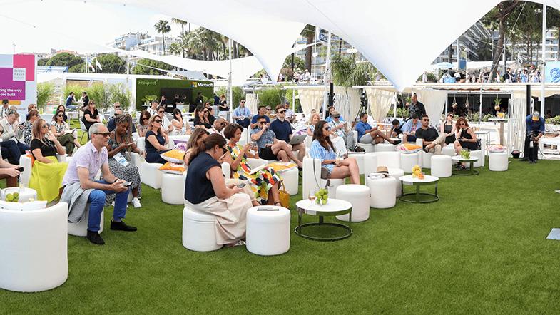 Cannes Dentsu Aegis beach house