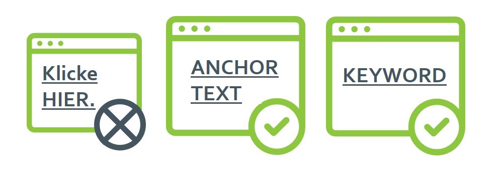 Wie soll ich Anchor-Texte richtig umsetzen