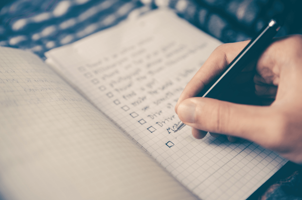 Heuristisen listan täyttäminen