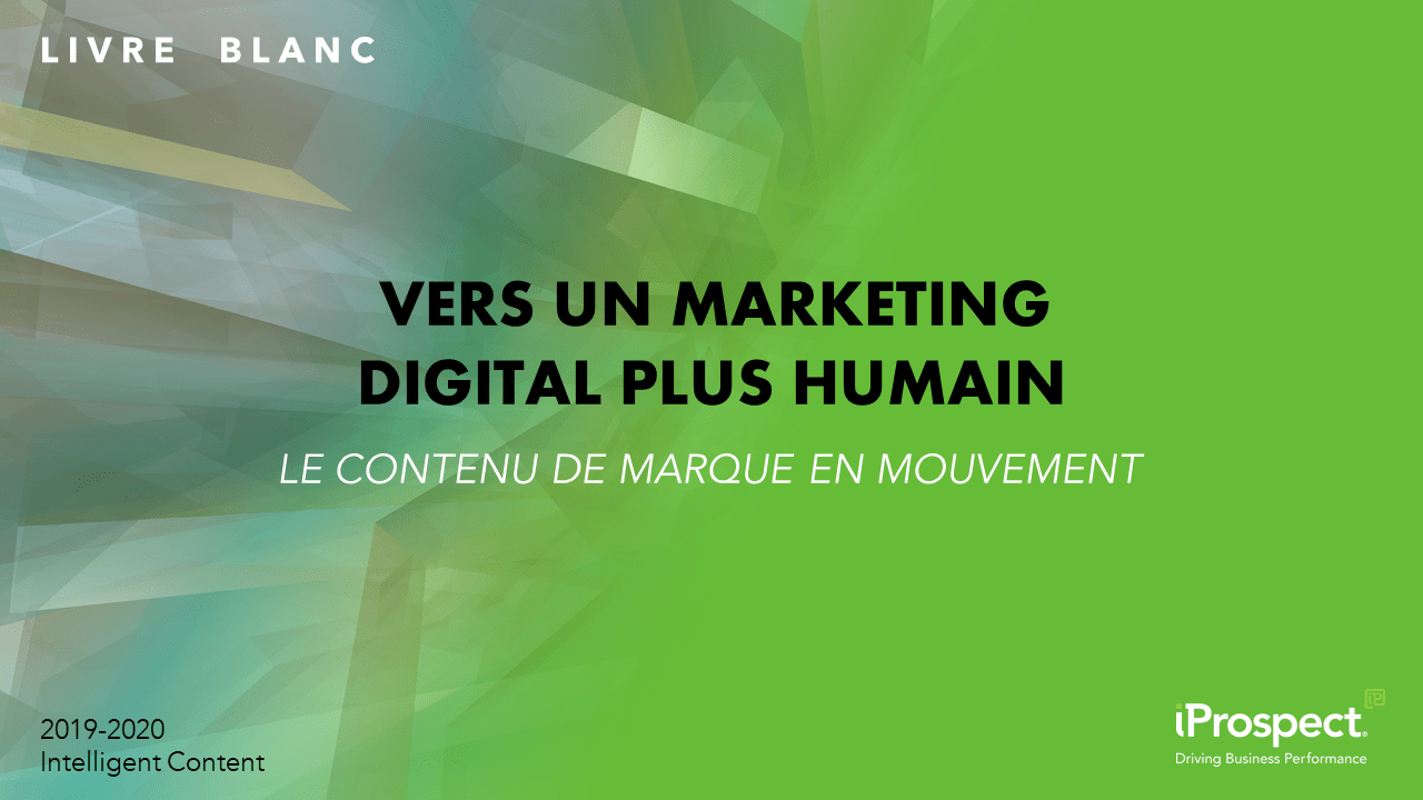 Vers un marketing digital plus humain