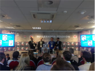 OMR15 Presselounge Millerntor Stadion Masterclasses