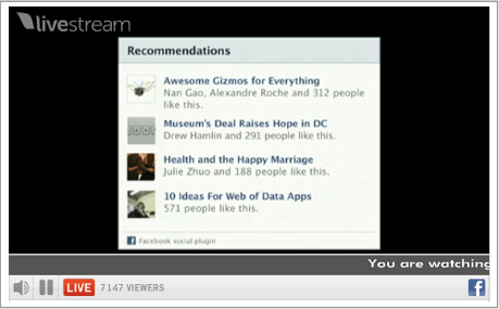 explido Social Media Marketing - facebook f8 conference recommendations