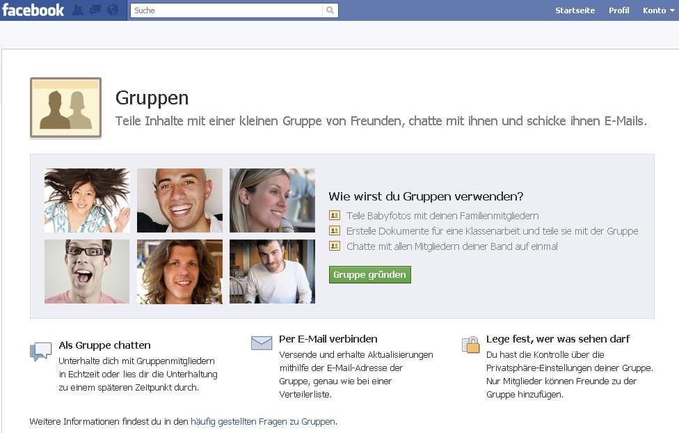 Facebook Gruppen