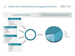 Ablaufplan eines Sales Modeling zur Budgetallokation