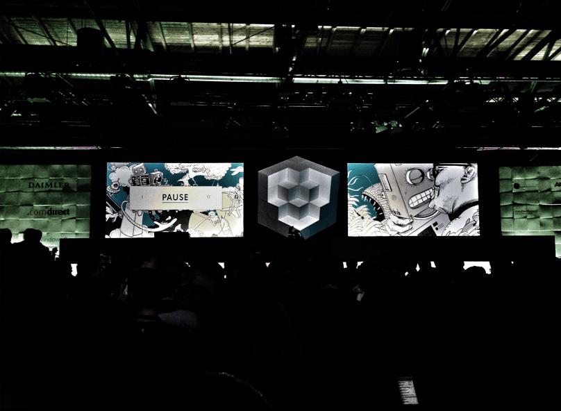 re:publica 13 Pause #rp13 vor der #rp14