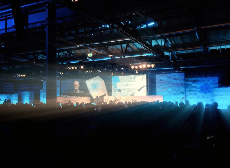 re:publica 13 Stage 1 Daimler CEO Dietmar Zetsche #rp13
