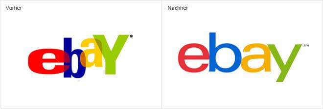 Logo-Trends 2013 - ebay