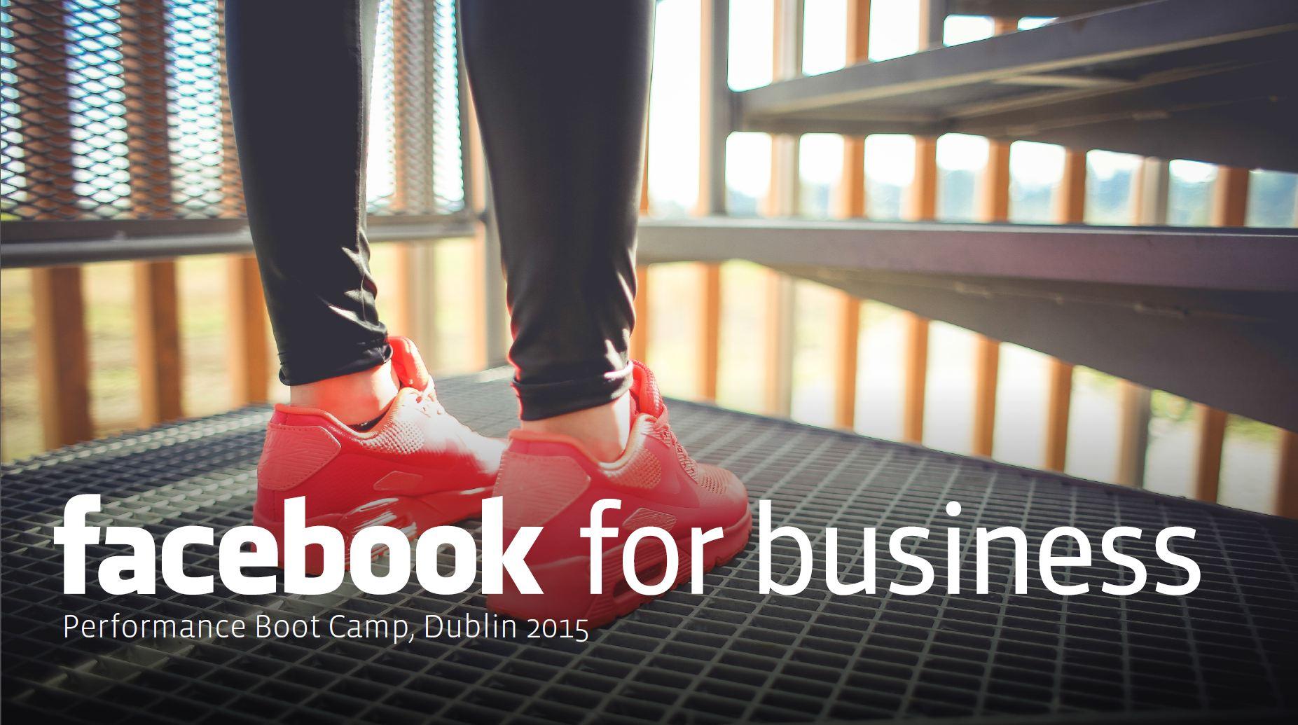 Facebook Performance Boot Camp