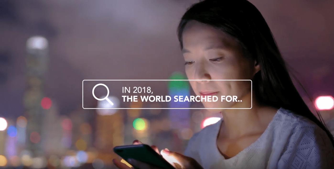 En 2018 el mundo estaba buscando, y nosotros también. Echa un vistazo a un año que no se detuvo.