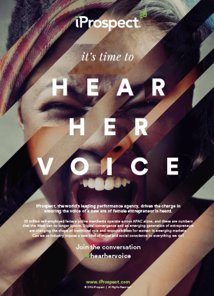 hear her voice