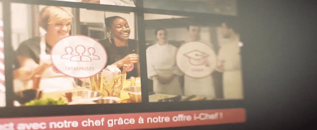 Que pense Atelier de Chefs ? Cliquez ci-dessus pour entendre Julie Brunet, directrice du marketing