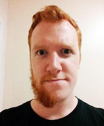 dean mustache