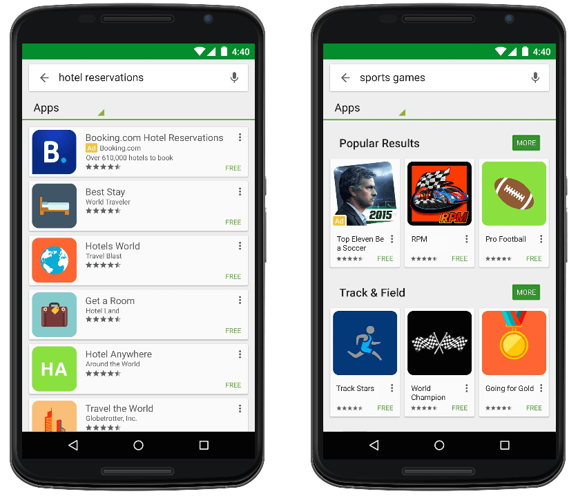 Android First App Opens