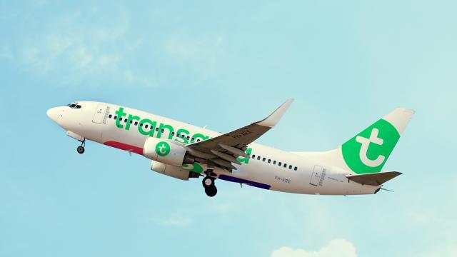 Transavia - Personalisatie van de Paginatitel