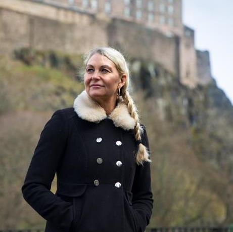 Anneli Edinburgh Castle
