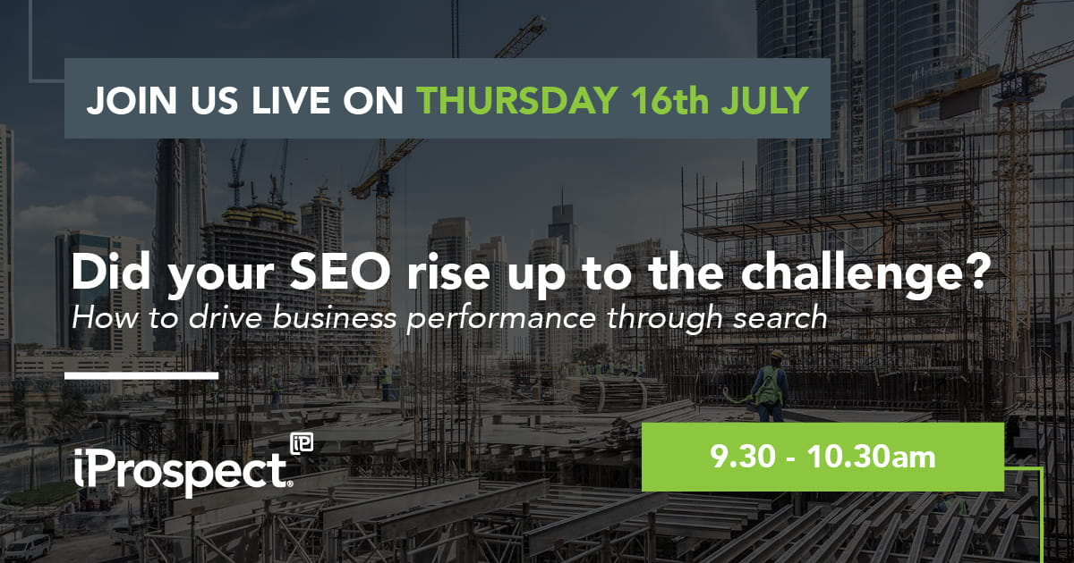 Webinar: Did your SEO rise up to the challenge?