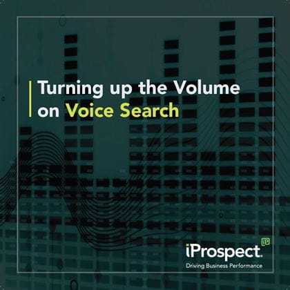Turning Up the Volume on Voice Search | Whitepaper