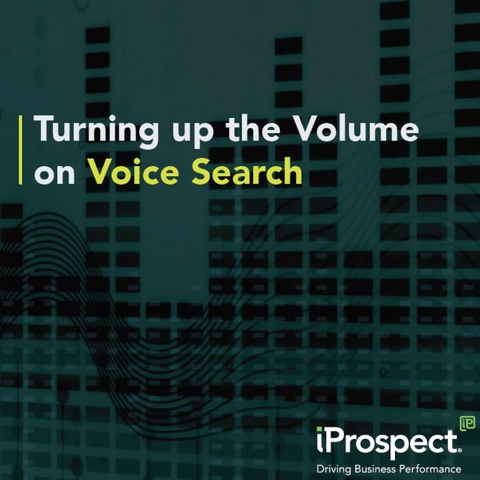 Turning up the Volume on Voice Search