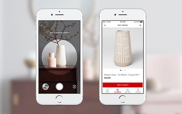 Pinterest Lens - mobile phone