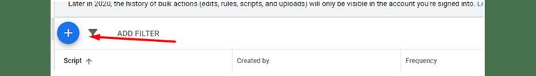 Tilføj og implementer nyt script i Google Ads
