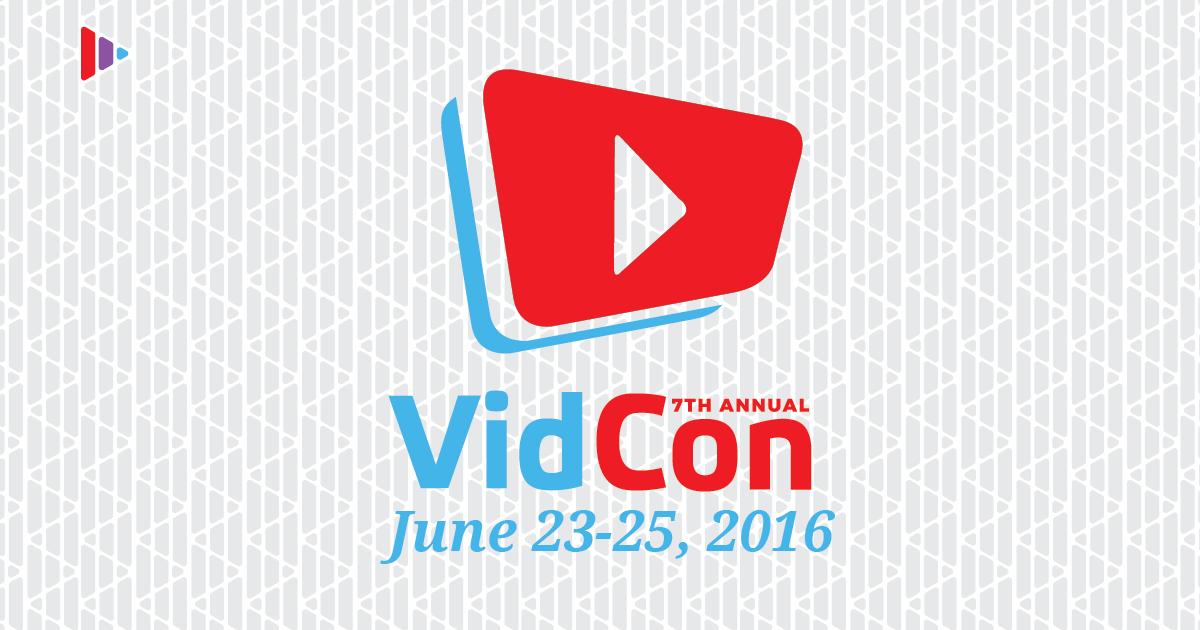 Vidcon 2016 video og YouTube konference