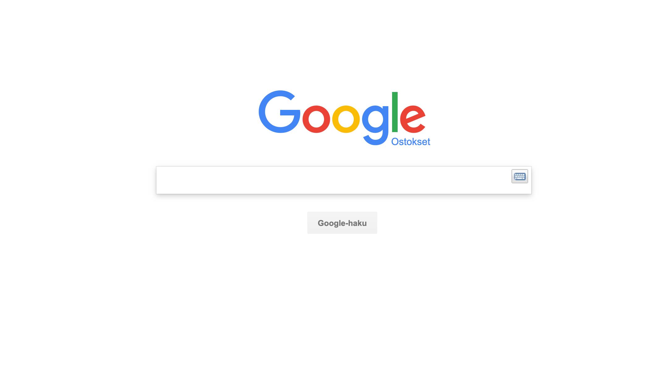 Google Shoppingin betaversio Suomeen – viimeinkin!