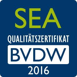 SEA Qualitätszertifikat BVDW 2016