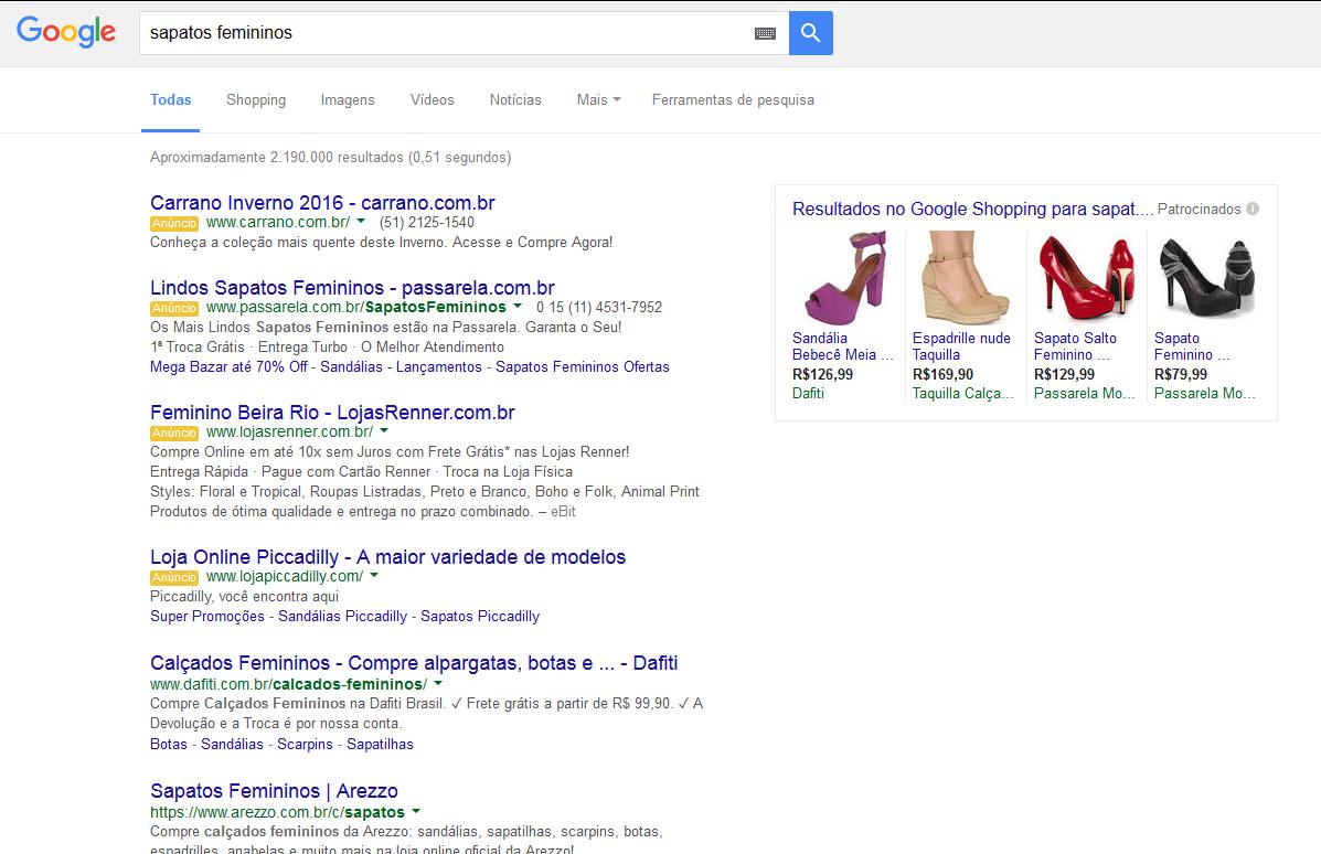 Google SERP Update
