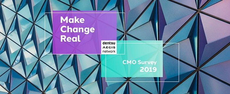 Dentsu Aegis Network CMO Survey 2019