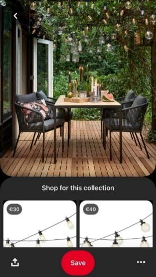 pintrest photo advertisement outdoor seating