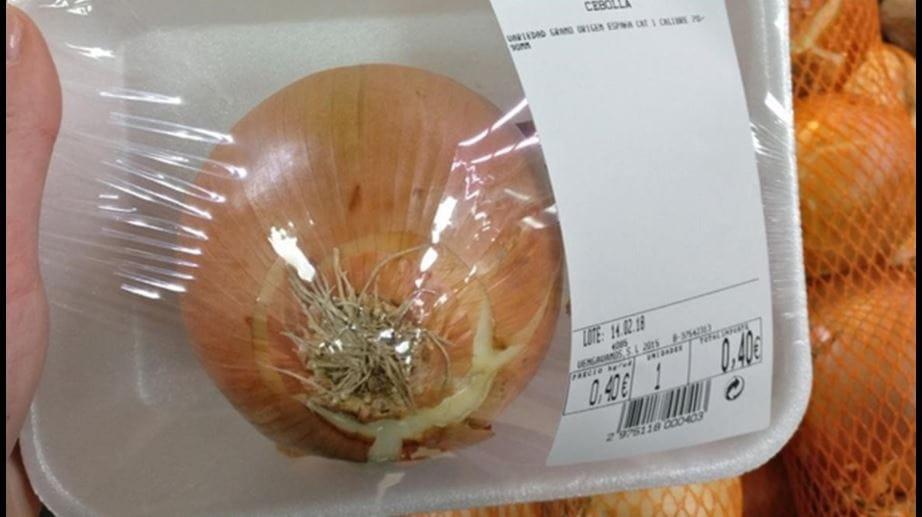 Embalaje cebolla