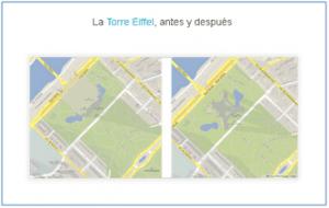 novedades google maps gl mapas en 3d torre eiffel