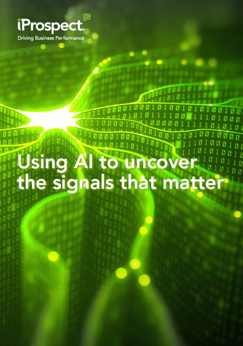 Using AI to Uncover the Signals that Matter front cover