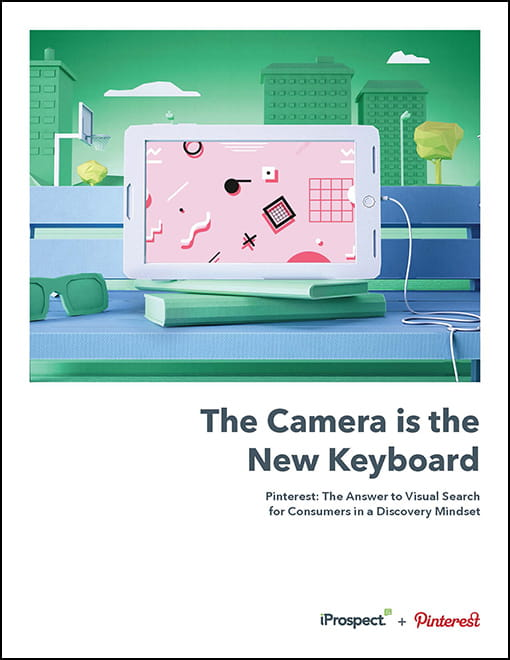 Cover page to whitepaper The Camera is the New Keyboard