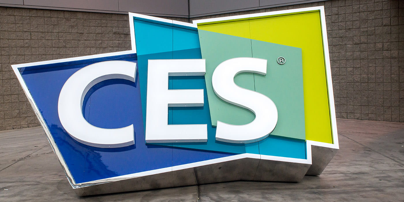 CES Welcome Sign