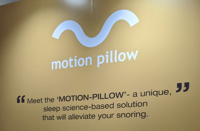 CES: motion pillow